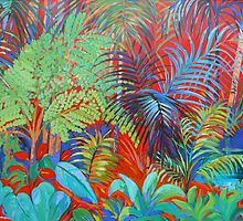 Rainforest Red by Virginia McGowan
