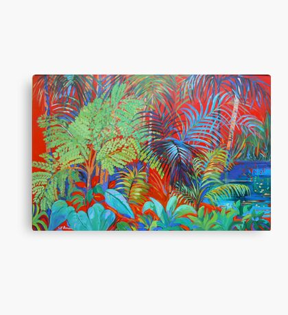 Rainforest Red Canvas Print