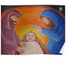 Birth of Jesus Christ Poster