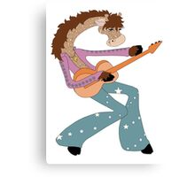 Jimmy Giraffe's Guitar Canvas Print
