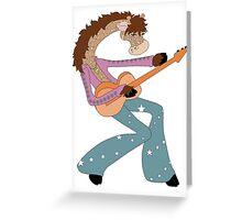 Jimmy Giraffe's Guitar Greeting Card