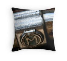 The Big M Throw Pillow