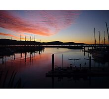 Evening Colours Photographic Print