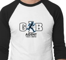 Zac Power - Agent Tech Head Men's Baseball ¾ T-Shirt