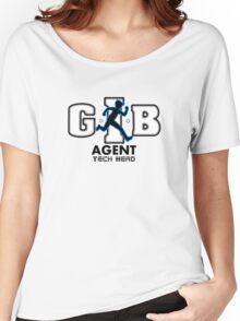 Zac Power - Agent Tech Head Women's Relaxed Fit T-Shirt