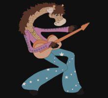 Jimmy Giraffe's Guitar One Piece - Long Sleeve