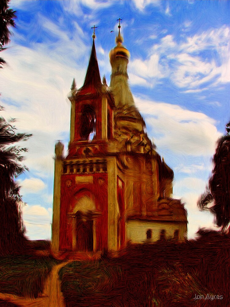 Old Russian Country Church2 by Jon Ayres