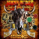 CD Cover Art - Johnny Rodes Outlaw Band: Renegade by COGgraphix