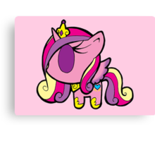 Weeny My Little Pony- Princess Cadence Canvas Print