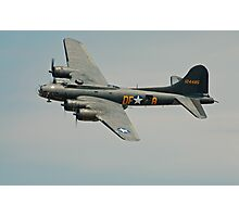 B-17 Memphis Belle replica flyby Photographic Print