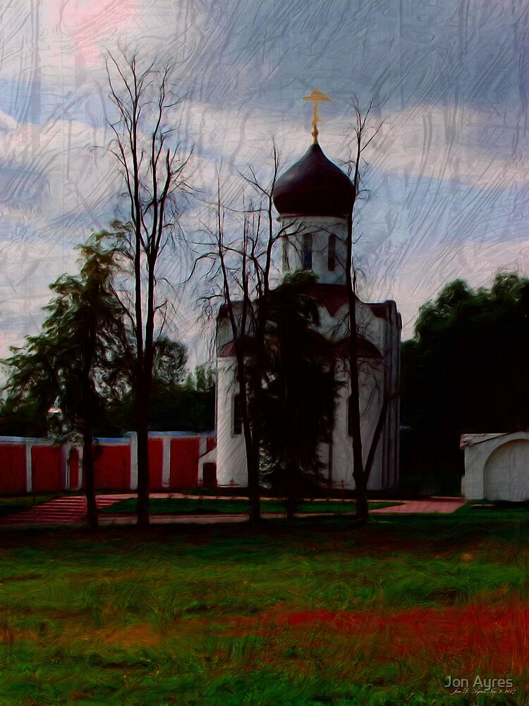 A Cathedral in Nikolo-Ugreshsky Monastery by Jon Ayres
