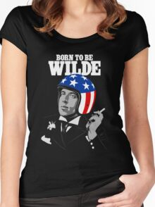 Born To Be Wilde Women's Fitted Scoop T-Shirt