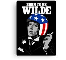 Born To Be Wilde Canvas Print