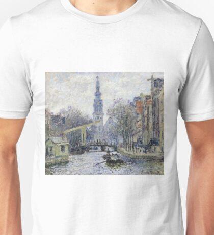 Claude Monet - Canal, Amsterdam Unisex T-Shirt