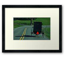 Getting Away Framed Print