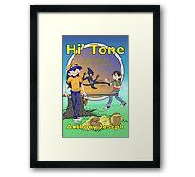 Hi' Tone Book Cover Framed Print