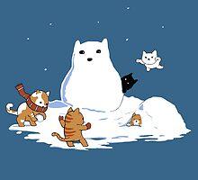 Snowcat by CrumblinCookie