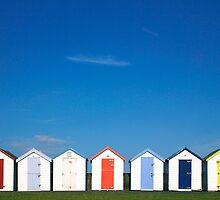 Dandy Beach Huts! by Nick Huggins