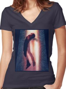 Yeezus  Women's Fitted V-Neck T-Shirt