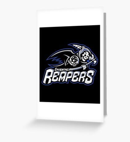 Charming Reapers Greeting Card
