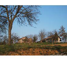 Golden Slovenia Photographic Print