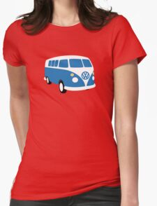 VW Bus Womens Fitted T-Shirt