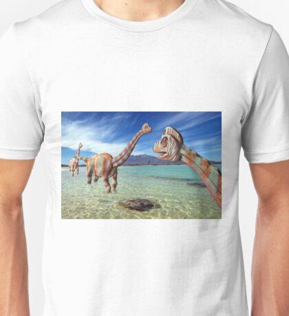 Brachiosaurus Dinosaurs, Illustration Unisex T-Shirt