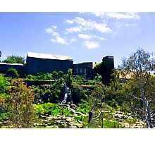 Over Green - Buckley Falls Photographic Print