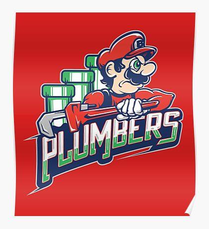 Brick City Plumbers Poster