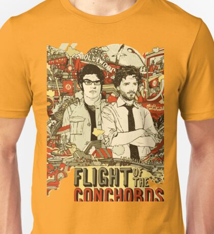 Flight of the Donchords - Distant Future Unisex T-Shirt
