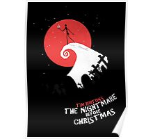 Minimalist Poster : Nightmare Before Christmas Poster
