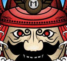 Mushroom Kingdom Samurai Sticker
