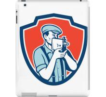 Photographer Shooting Vintage Camera Retro iPad Case/Skin