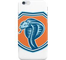 Cobra Viper Snake Head Shield Retro iPhone Case/Skin