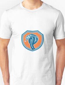 Cobra Viper Snake Head Shield Retro Unisex T-Shirt
