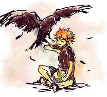 Haikyuu!! Crow by banafria