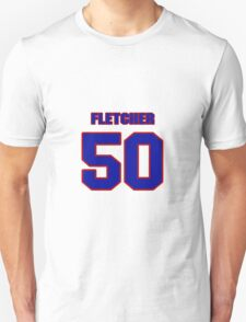 National football player Dane Fletcher jersey 50 T-Shirt