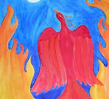 Phoenix Rising by Delphinium