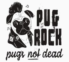 Pug Rock by Iva Ivanova