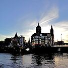 Amsterdam skyline by jchanders