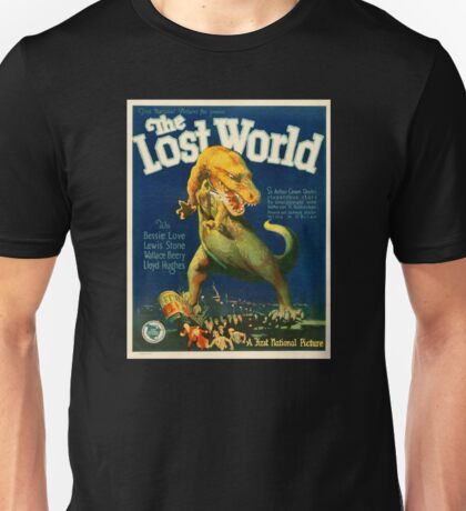 The Lost World Vintage Movie Poster Unisex T-Shirt