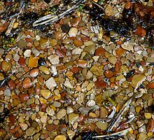 pebbles at weeping rock by Christine McDonough