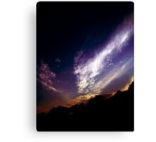 iridescent Canvas Print