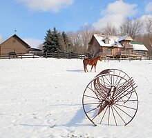 A Simple Farm Pic by jonathaninvermont
