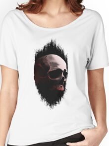 Abstract Skull Women's Relaxed Fit T-Shirt