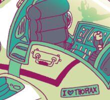 I LOVE THORAX Sticker