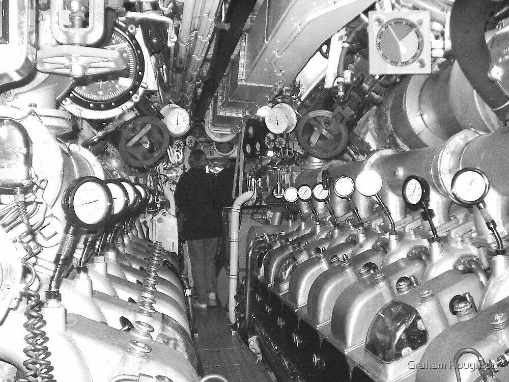 In the Engine Room by Graham Houghton