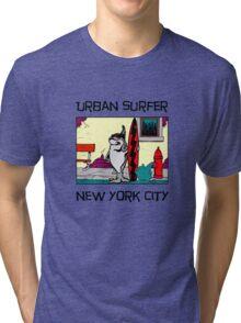 Urban Surfer NYC Tri-blend T-Shirt