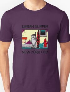 Urban Surfer NYC Unisex T-Shirt