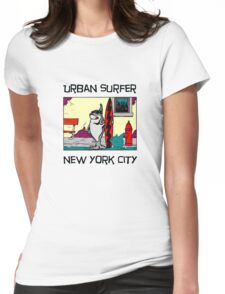 Urban Surfer NYC Womens Fitted T-Shirt